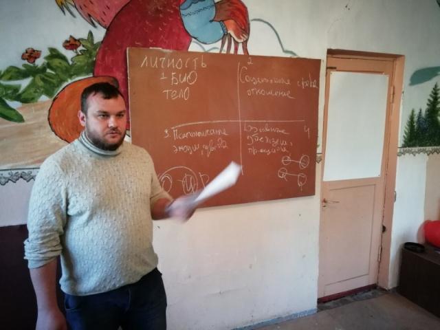 Николай Фузеев провел занятие на тему: Механизмы психологической защиты