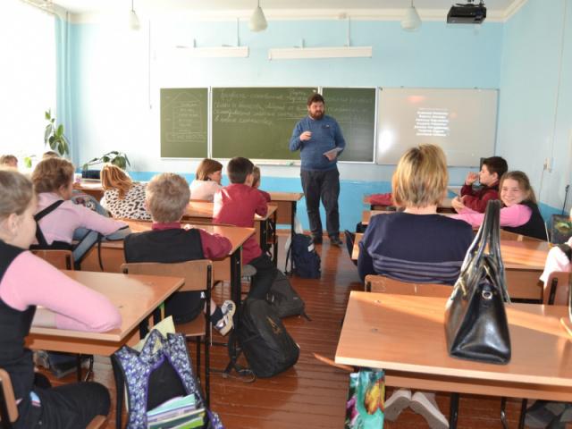 Урок Трезвости в Ухоловской школе Рязанской области.
