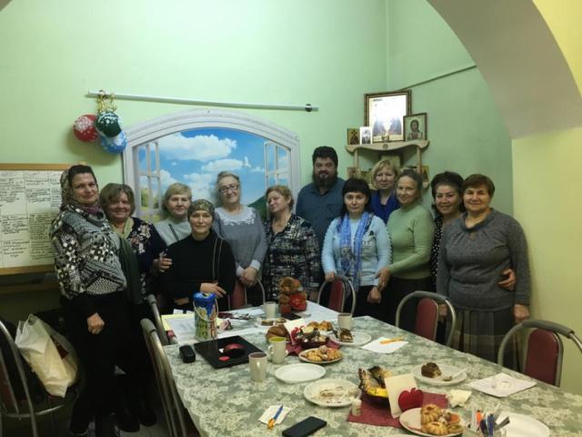 23 октября 2018 года, в г. Яхрома, Московской области, прошла очередная встреча общества Трезвости во имя свмч. Серафима, епископа Дмитровского.
