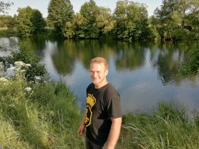 Река Ранова. Наше любимое место для купания.
